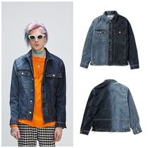 日本未入荷SAINTPAINのSP HALF DENT DENIM JACKET