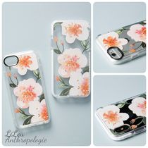 Anthropologie★Casetify Pink Floral iPhoneケース6〜X