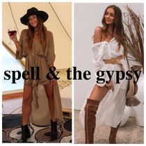 SPELL(スペル) ワンピース SPELL & THE GYPSY COLLECTIVE 〓LINDA SHIRT DRESS