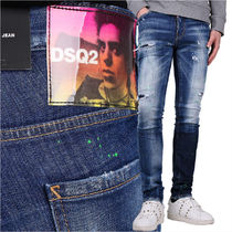 DSQUARED2 19SS ペンキスポット ダメージ加工 ジーンズ_COOL GUY
