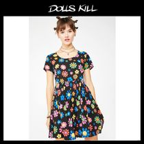 関税/送料込*DOLLS KILL*FLOWER POWER BABYDOLL DRESS