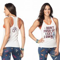 ☆ZUMBA・ズンバ☆Get Down Ribbed Tank
