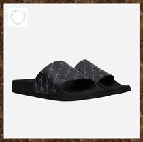 ステラマッカートニー★Monogram rubber slide sandals★