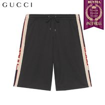 【正規品保証】GUCCI★19春夏★TECHNICAL JERSEY SHORTS