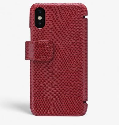 THE CASE FACTORY スマホケース・テックアクセサリー 関税送料込☆THE CASEFACTORY☆IPHONE XR CARD CASE LIZARD (2)