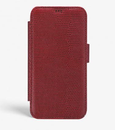 THE CASE FACTORY スマホケース・テックアクセサリー 関税送料込☆THE CASEFACTORY☆IPHONE XR CARD CASE LIZARD (3)