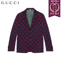 【正規品保証】GUCCI★19春夏★GG JERSEY FORMAL JACKET