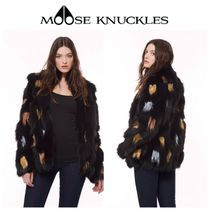 【MOOSE KNUCKLES】☆JOLIETTE PAINTED FUR JACKET