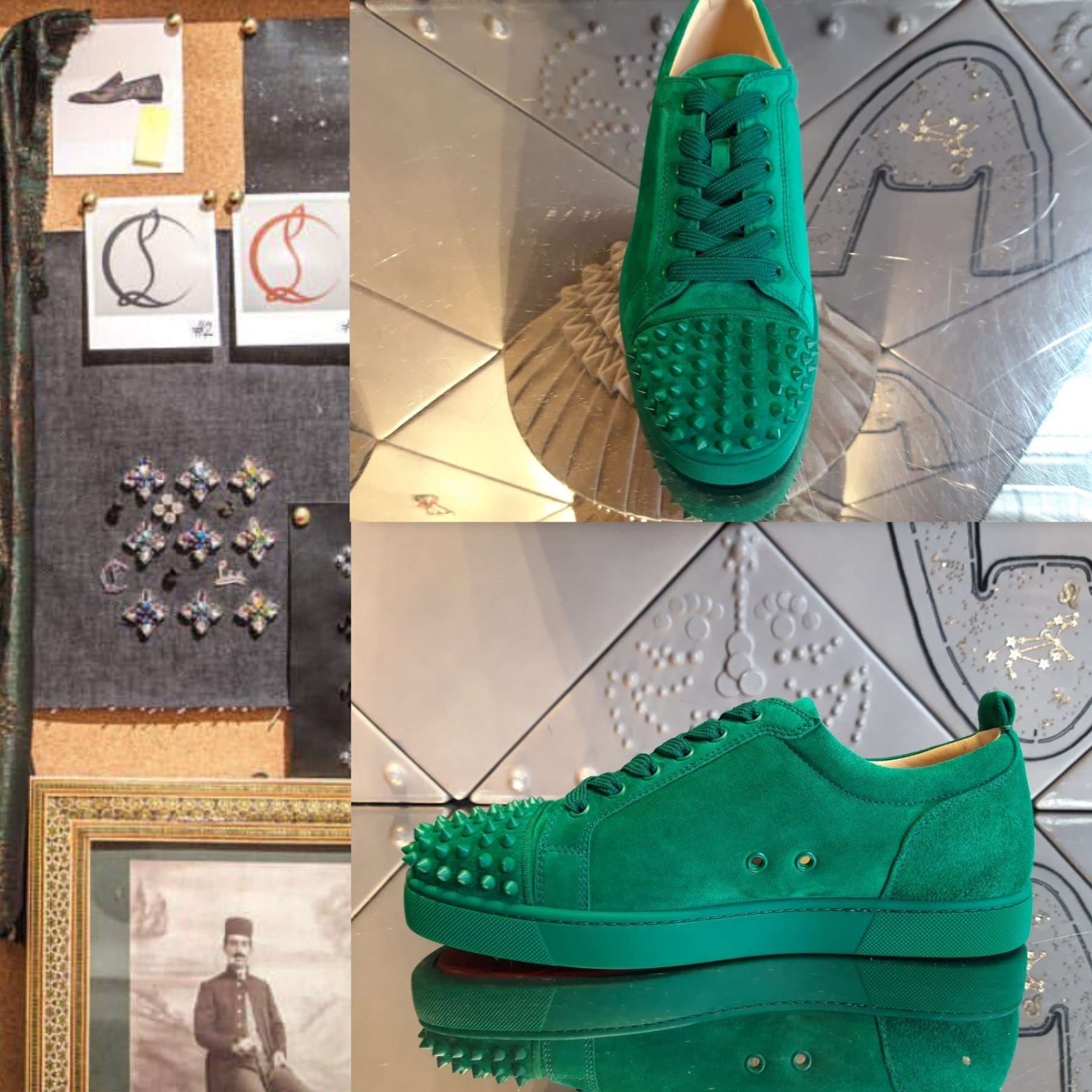 reputable site abb4f 30dae Christian Louboutin 2019 SS Christian Louboutin Sneakers (LOUIS JUNIOR  SPIKES)