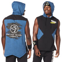 1月新作【送料無料】Zumba Game Changer Sleeveless Hoodie