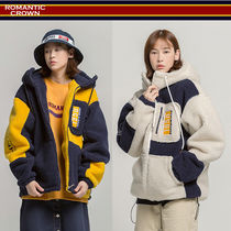 【ROMANTIC CROWN】 Pocket Heavy Fleece Jacket★日本未入荷