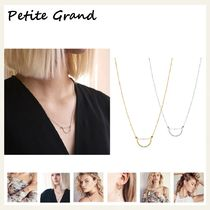 § Petite Grand § 国内発送 / ハーフムーンネックレス