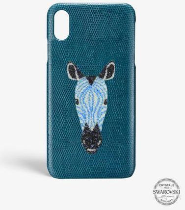 THE CASE FACTORY スマホケース・テックアクセサリー 関税送料込☆THE CASEFACTORY☆IPHONE XR SWAROVSKI GIRAFFE(2)