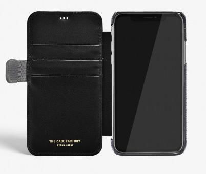 THE CASE FACTORY スマホケース・テックアクセサリー 関送込☆THE CASEFACTORY☆IPHONE XS MAX CARD CASE LIZARD (4)