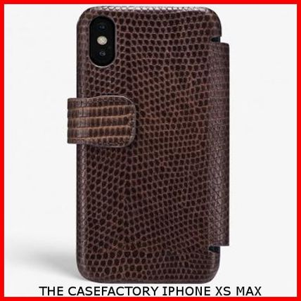 THE CASE FACTORY スマホケース・テックアクセサリー 関送込☆THE CASEFACTORY☆IPHONE XS MAX CARD CASE VARAN