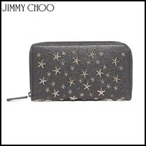 Jimmy Choo★studs and swarowsky wallet★カードホルダー