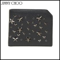 Jimmy Choo★Studded wallet with swarovski★カードホルダー