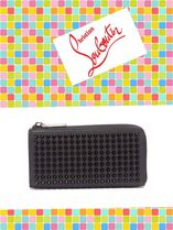 Christian Louboutin/M Tinos spike-stud leather wallet