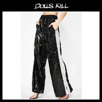 関税/送料込 *DOLLS KILL*HUSTLE N' FLOW SEQUIN PANTS