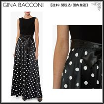 【海外限定】GinaBacconiワンピ☆Ilythia Satin Maxi Dress