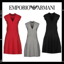 SALE【Emporio Armani】knitted dress