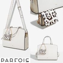 【SALE】Parfois バッグ型チャーム付き☆2-WAYショッパーバッグ