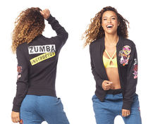 新作イントラ♪ズンバZumba Dance Bold Instructor Jacket-Black