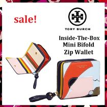 セール 新作 Tory Burch Inside The Box Bifold Zip Wallet