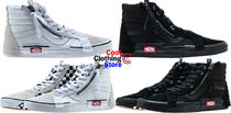 海外限定 VANS SK8-HI REISSUE CHECKERBOARD SIDE ZIP 26~31cm