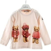 MONCLER(モンクレール) キッズ プリントTシャツ ピンク