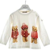 MONCLER(モンクレール) キッズ プリントTシャツ ホワイト
