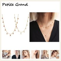 §Petite Grand§ 国内発送 プチストーンのチェーンネックレス