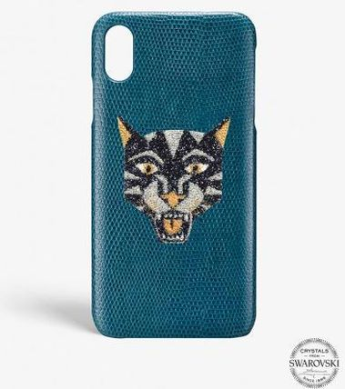 THE CASE FACTORY スマホケース・テックアクセサリー 関送込☆THE CASEFACTORY☆IPHONE XS MAX SWAROVSKI TIGER (2)