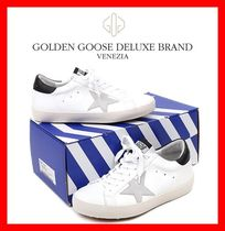 関税負担【GOLDENGOOSE】★BLACK METAL LOGO SUPERSTAR SNEAKERS