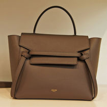 CELINE★19SS 新ロゴ ベルトバッグ マイクロ Gray / GRAINED C