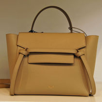 CELINE★19SS 新ロゴ ベルトバッグ マイクロ Taupe / GRAINED C