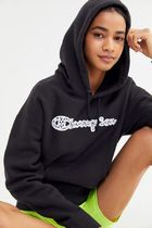 日本未発売!【Champion】Animal Print Logo Hoodie Sweatshirt