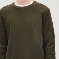 """COS MEN"" RIBBED JERSEY TOP KHAKI"