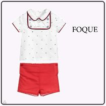 FOQUE☆BABY BOY ショーツセット white×red 3-36M