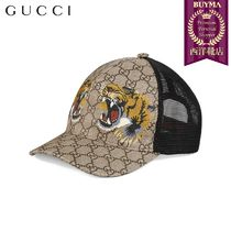 【正規品保証】GUCCI★19春夏★TIGERS PRINT BASEBALL HAT