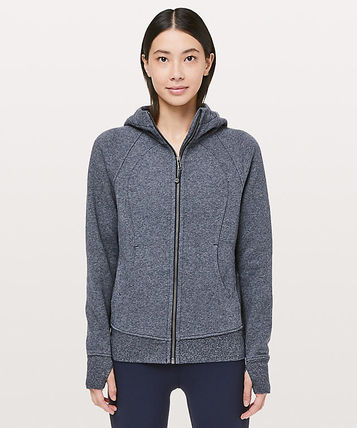 Scuba Hoodie Light Cotton Fleece*定番人気* True Navy