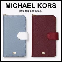 国内発送♪Michael kors Color-Block Saffiano iPhone Xケース
