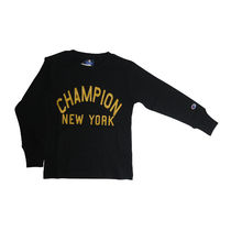 CHAMPION(チャンピオン) キッズ用トップス Champion CX7131 08 KIDS LONG SLEEVE T SHIRT BLACK