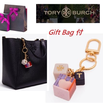 Tory Burch(トリーバーチ)  LOGO HEART KEY RING Bag付(即発可)