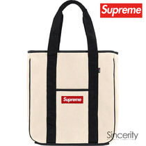 SUPREME POLARTEC TOTE / NATURAL