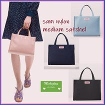 【kate spade】ブランド初バック★sam nylon medium satchel★
