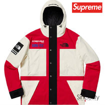 SUPREME THE NORTH FACE EXPEDITION JACKET / WHITE / LARGE