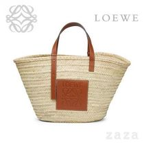 LOEWE★ロエベ Basket Large Bag Natural/Tan