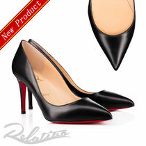 ★19SS★【Louboutin】Pigalle 85㎜ レザー パンプス/Black