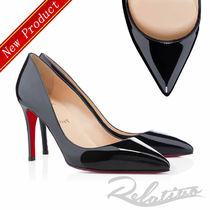 ★19SS★【Louboutin】Pigalle 85㎜ パテント パンプス/Black